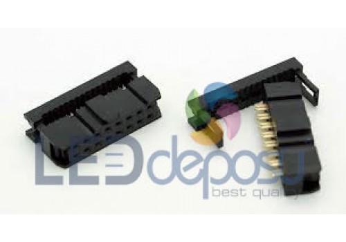16 Pin IDC Konnektör Dişi