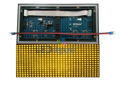 P10 Led Panel Sarı HQ